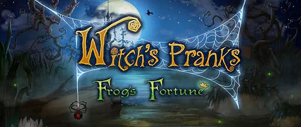 Witch's Pranks: Frog's Fortune - Get set for a pun-themed adventure as you embark in this grand scale effort to save a frog prince.
