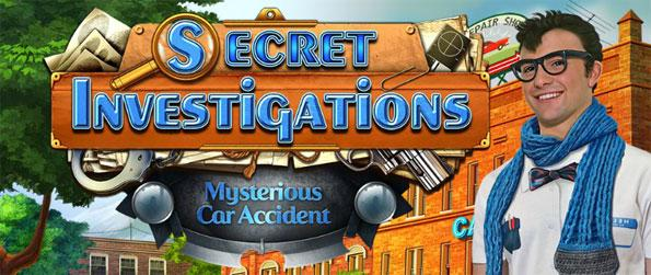Secret Investigations: Mysterious Car Accident - Solve the mystery behind the car accident that plagued the protagonist's first date.