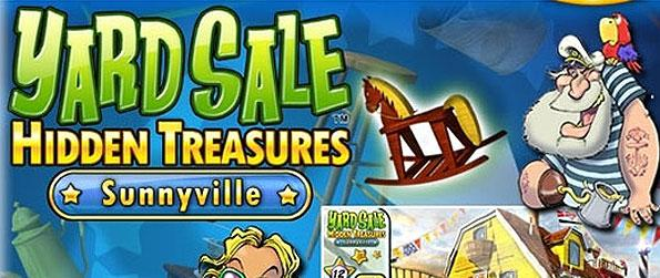 Yard Sale Hidden Treasures: Sunnyville - Get to spruce up your dream home in an effort to get it featured on a magazine cover story in this unique hidden object game!