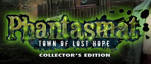 Phantasmat: Town of Lost Hope Collector's Edition - Escape the elaborate maze and fight for survival from a serial killer to find your missing family in this twisted and thrilling hidden object game.