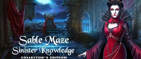 Sable Maze: Sinister Knowledge Collector's Edition - Find out hidden objects using word lists and silhouettes, solve puzzles and play match-3 games.