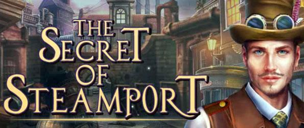 The Secret of Steamport - Follow an intriguing story that's truly worthy of Hidden Object games.