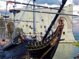 Lost Secrets: Caribbean Explorer about to board a ship