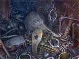 Grim Tales: Crimson Hollow hidden object scene