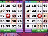 Beginning of the Bingo Game on Zynga Bingo!