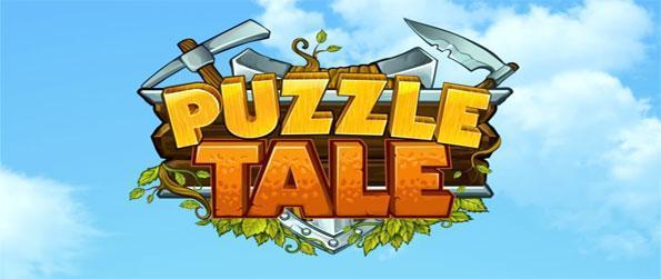 Puzzle Tale - Adaptez vos matériaux ensemble que vous reconstruisez un royaume défaut.
