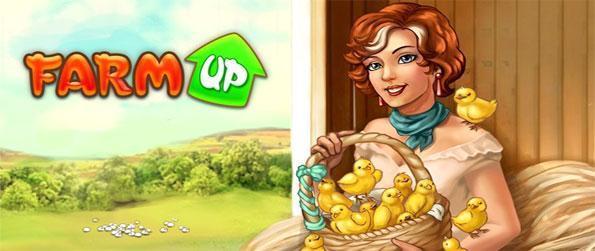 Farm Up - Profitez d'une qualité fantastique et incroyablement bon jeu de gestion agricole de regard libre de Big Fish Games.