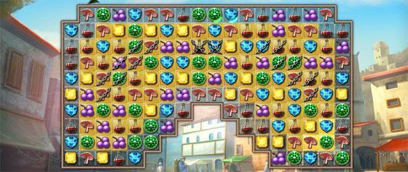 Alchemy Quest - Reconstruire votre bibliothèque magique avec un superbe nouveau et amusant jeu de match 3.