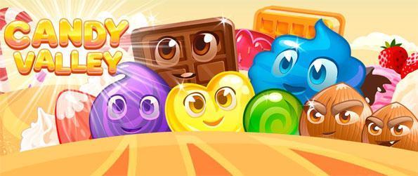 Candy Valley - Profitez d'une douce de match 3 aventure pleine de couleur et de plaisir.