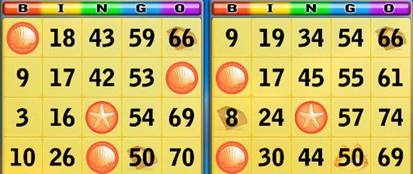 Bingo Praia - Bingo Praia combina ação bingo clássico com poderes especiais.