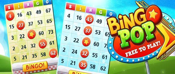 Bingo Pop - Relaxe com este clássico jogo de bingo gratuito no Facebook.
