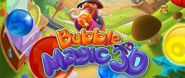 Bubble Magic 3D - Entre em um mundo de bolha 3D Shooting mágica!