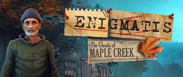 Enigmatis: The Ghosts of Maple Creek - Trouvez l'adolescent absent et sauvez-vous dans ce jeu épique d'objets cachés.