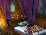 Bedroom in Evil Pumpkin: The Lost Halloween