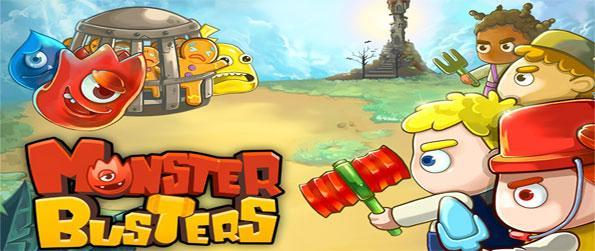 Monster Busters - Rescue the Gingerbread men from the evil monsters that captured them in this cute Facebook Game.