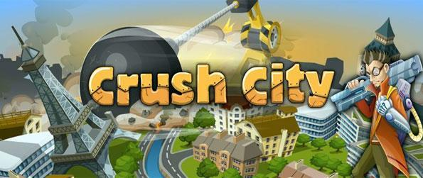 Crush City - Match blocks and crush them as you gather items to save the world in a free Facebook Game.