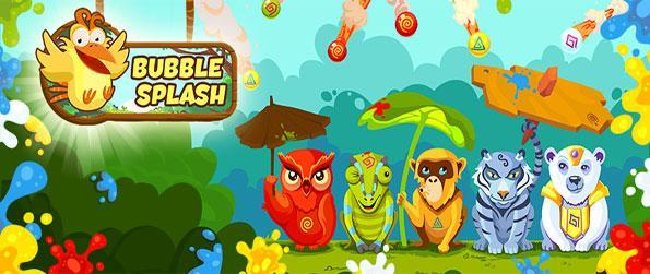 Bubble Splash - Splash bubbles in this fun new colourful game free on Facebook.
