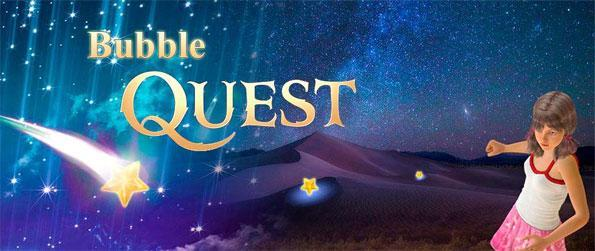 Bubble Quest - Enjoy a fantastic looking brand new bubble game free on Facebook.