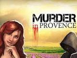 Murder In Provence Logo with your character Audrey