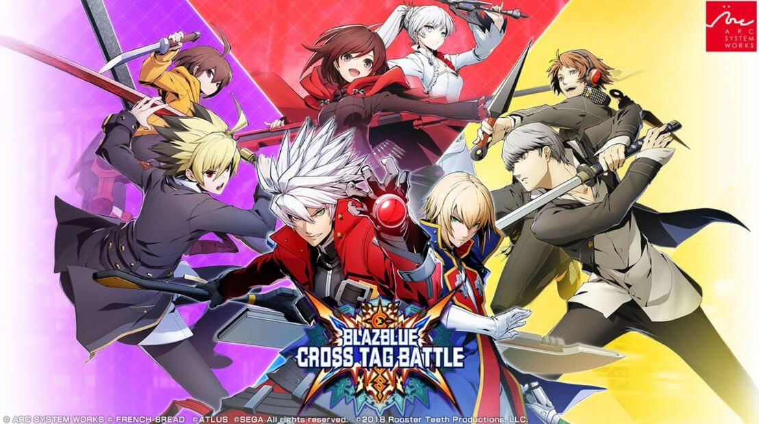Blazblue is definitely an anime fighting game, even if there are some non-anime characters