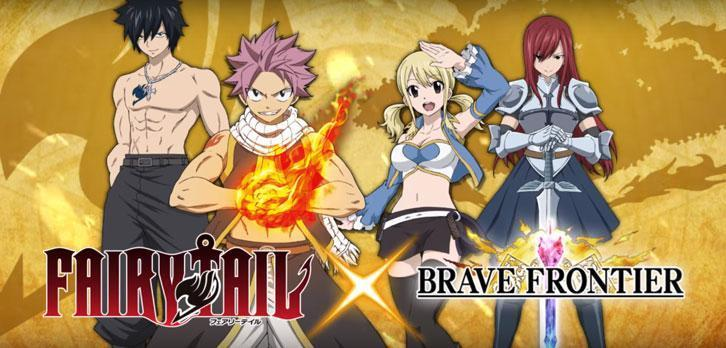 Gumi Inc. And Kodansha Enchant Players With Brave Frontier X Fairy Tail Collaboration