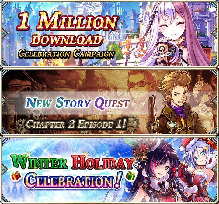 Warm Up This Winter With The Alchemist Code's Exciting Year-End Festivities And Chapter Two Release