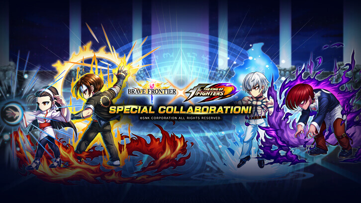 """Brave Frontier"" and ""The King of Fighters"" Collaboration Coming This Spring"