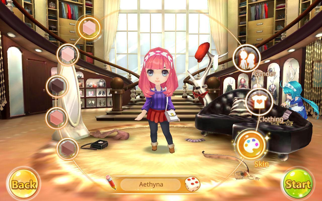Dream City Idols - Online Anime Games
