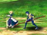 Saber, Lancer, and Archer in Fate/Grand Order
