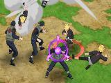 Using a skill in Ninja Voltage
