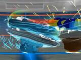 Combat cutscene in Beyblade Burst Rivals