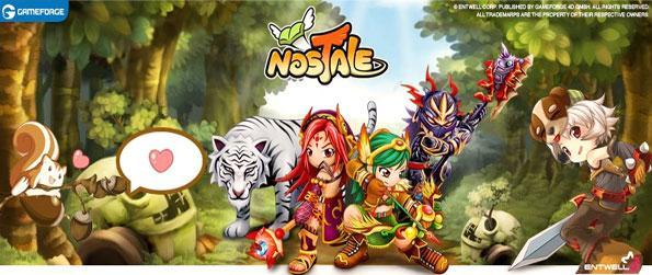 NosTale - Enjoy a fun anime mmo game full of adventure.