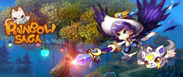 Rainbow Saga - Enjoy a fun and addictive MMORPG experience with an amazing theme.