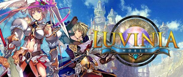 Luvinia World - Explore a stylish anime themed world suitable for kids as well as adults.