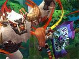 Gameplay for Dragomon Hunter