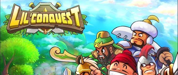 Lil' Conquest - Conquer various regions of the world with your adorable army in this whimsical MMO strategy game, Lil' Conquest!