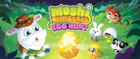 Moshi Monsters Egg Hunt - Pet adorable Moshi monsters in Moshi Monsters Egg Hunt.