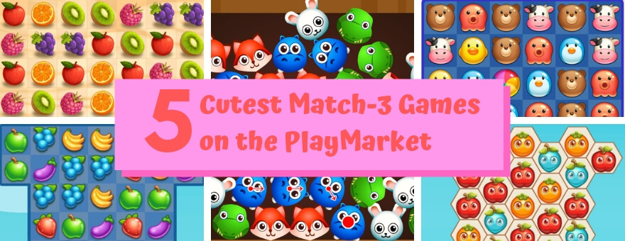 5 Cutest Match-3 Games on the PlayMarket large