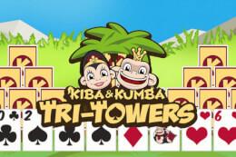 Kiba & Kumba Tri Towers Solitaire thumb