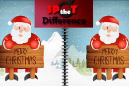 Christmas Five Differences thumb