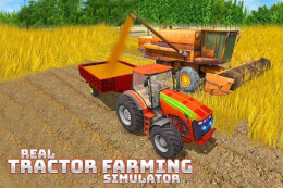 Real Tractor Farming Simulator: Heavy Duty Tractor thumb