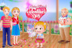 Baby Hazel Valentine's Day thumb
