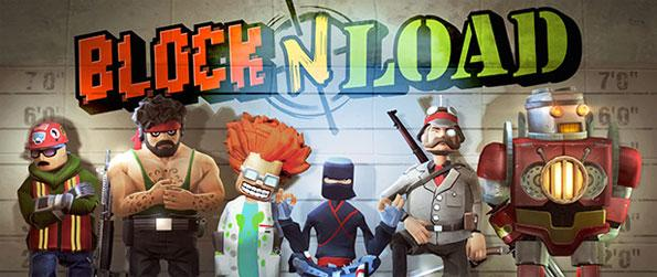 Block N Load - Building blocks and blowing up enemy bases never gets better in this First Person Shooter of sorts.