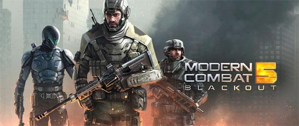 Modern Combat 5: Blackout - Play through single player missions and follow the story.