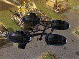 Steel Legions deploying airships