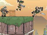 Fighting in Metal Soldiers 2
