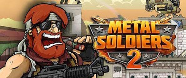 Metal Soldiers 2 - Shoot the enemies and dodge the bullets coming your way in Metal Soldiers 2.