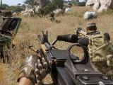 Using a machine gun in Arma