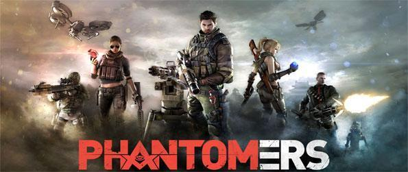 Phantomers - Enter an exciting fast paced MMO FPS where you battle to save the world from an evil organization.