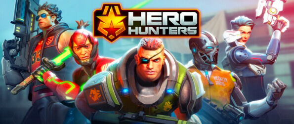 Hero Hunters - Roll out and go hunt for heroes in Hero Hunters, a team-based shooter available on mobile platforms.